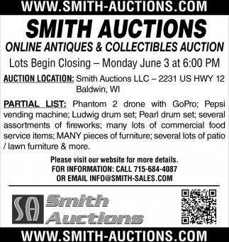 Online Antiques & Collectibles Auction
