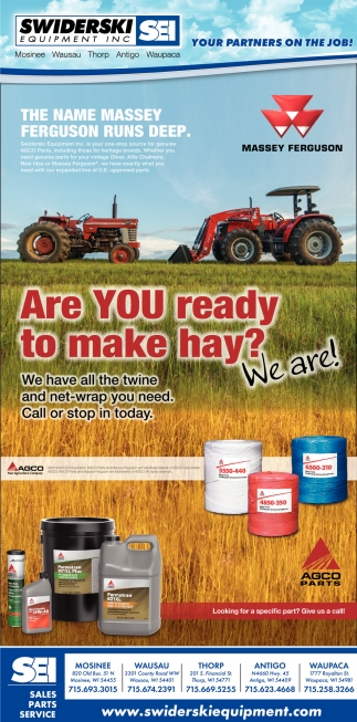 Are You Ready to Make Hay?