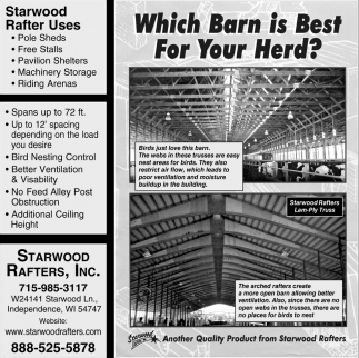Wich Barn is Best for Your Herd?