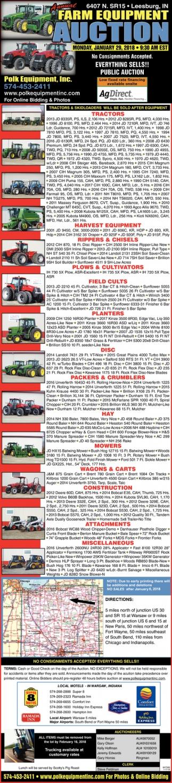 Farm Equioment Auction