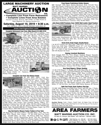 Large Machinery Auction