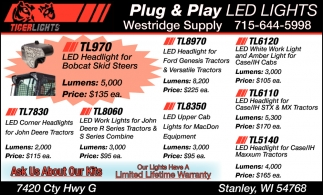 Plug & Play Led Lights