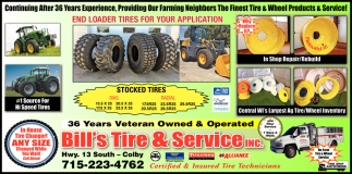 End Loader Tires for Your Application