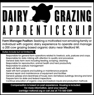 Farm Manager Position