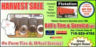 End Loader Tires for Your Application