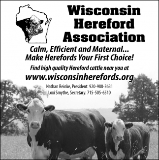 Make Herefords Your First Choice