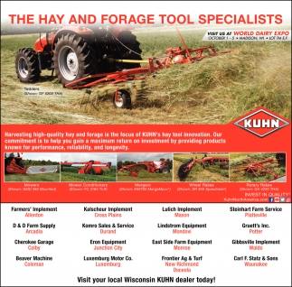 They Had and Forage Tool Specialists