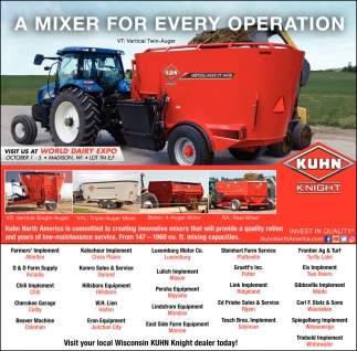 A Mixer for Every Operation