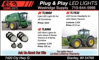 Plug & Play Led Lights