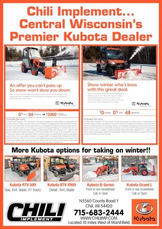 Premier Kubota Dealer
