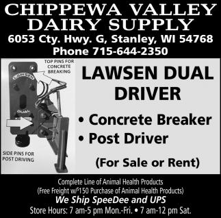 Lawsen Dual Driver
