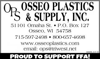 Osseo Plastics & Supply, Inc