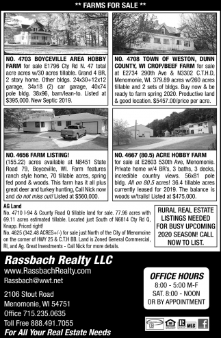 Farms for Sale