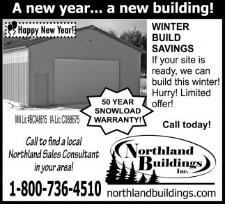 A New Year... A New Building