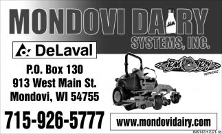 Mondovi Dairy Systems, Inc