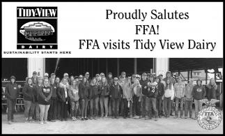 Proudly Salutes FFA