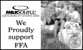 We Proudly Support FFA