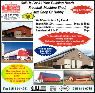 Call Us For All Your Building Needs