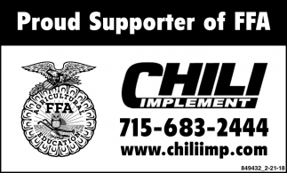 Proud Supporter of FFA