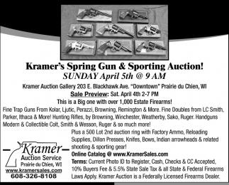 Kramer's Spring Gun & Sporting Auction