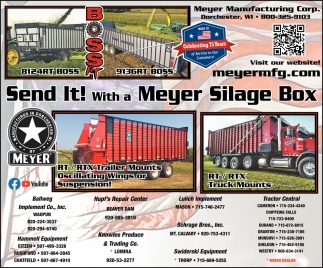 Meyer Silage Box