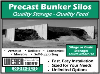 Precast Bunker Silos
