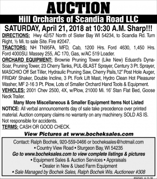 Hill Orchards of Scandia Road LLC