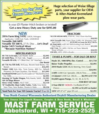 Mast Farm Service
