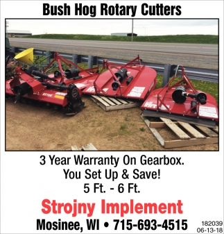 Bush Hog Rotary Cutters