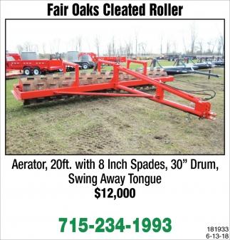 Fair Oaks Cleated Roller