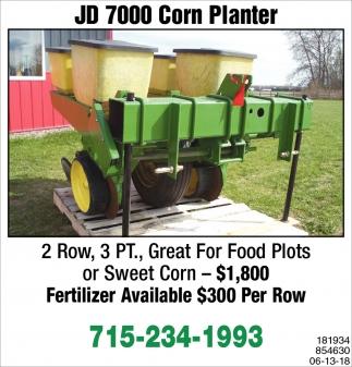 JD 7000 Corn Planter