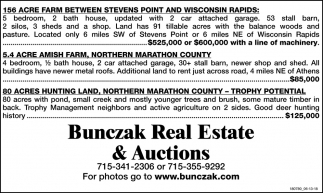Bunczak Real Estate & Auctions