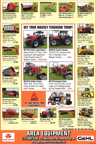 Get your massey ferguson today!