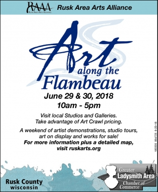 Art Along the Flambeau