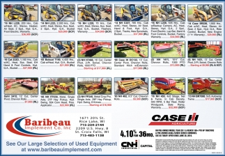 _See Our Large Selection of Used Equipment