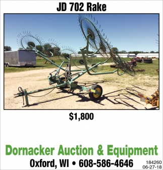 JD 702 Rake