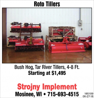 Roto Tillers