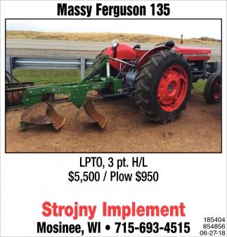 Massy Ferguson 135
