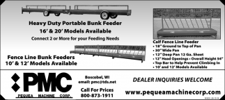Heavy Duty Portable Bunk Feeder